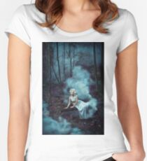 FOGGY  Women's Fitted Scoop T-Shirt