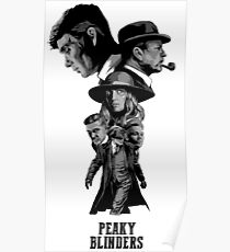 All Characters Peaky Poster