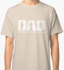 Dad The Firefighter The Myth The Legend T-shirts Classic T-Shirt