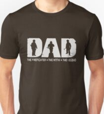 Dad The Firefighter The Myth The Legend T-shirts Unisex T-Shirt