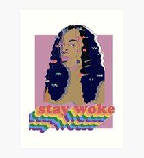 Stay Woke fan art Pride week  Art Print