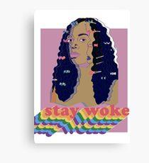 Stay Woke fan art Pride week  Canvas Print