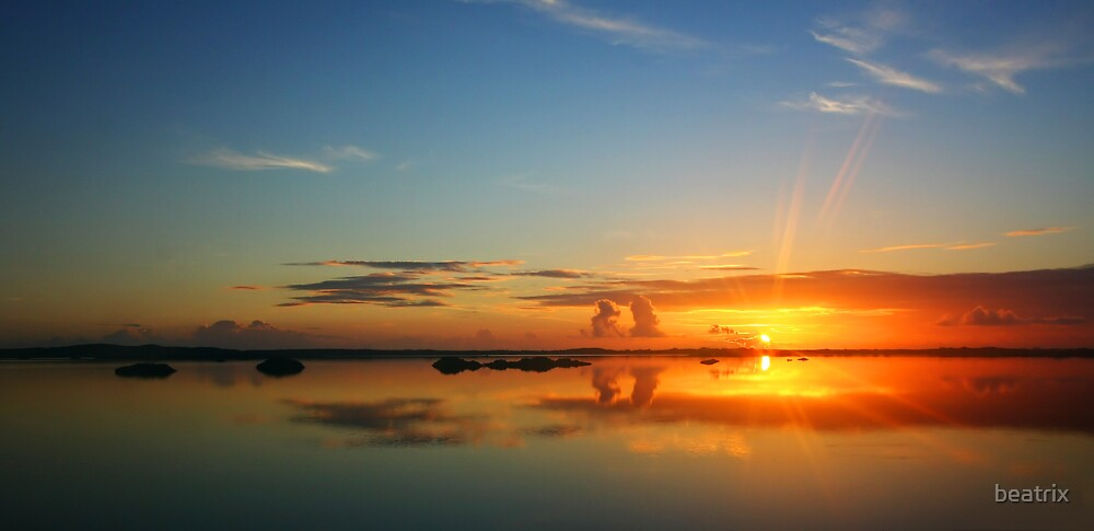 glorious sunrise in the Turks & Caicos Islands by beatrix