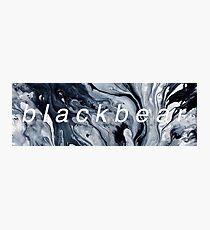 Blackbear Marble Photographic Print