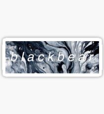 Blackbear Marble Sticker