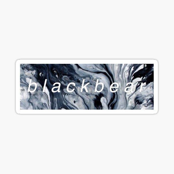 Blackbear Marble Sticker