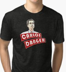 Carlos Danger aka Anthony Weiner T-Shirt Tri-blend T-Shirt