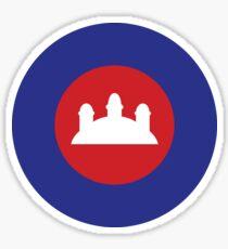 Cambodian Roundel Sticker