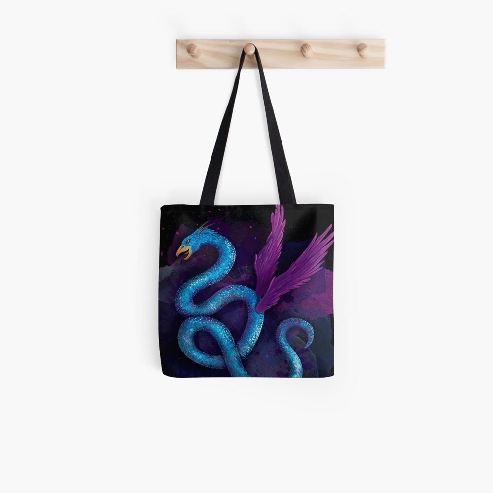 Fantastischer Vogel Drache Tote Bag