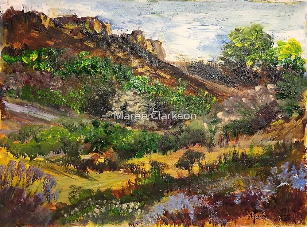 Magaliesberg cliffs by Maree Clarkson