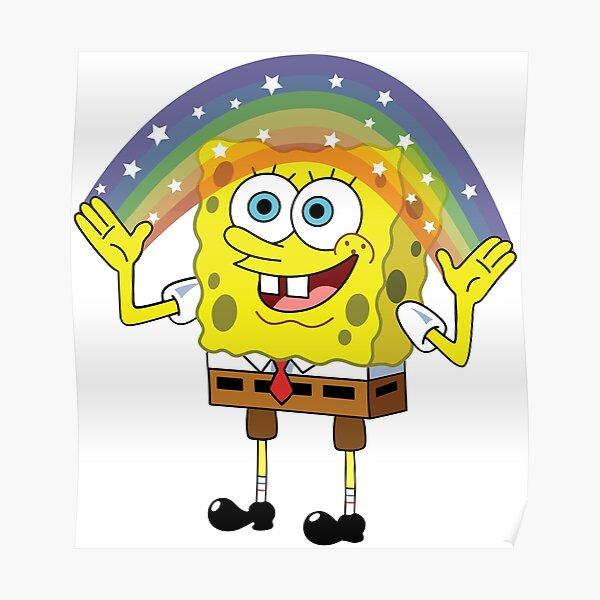 SpongeBob Imagination Poster