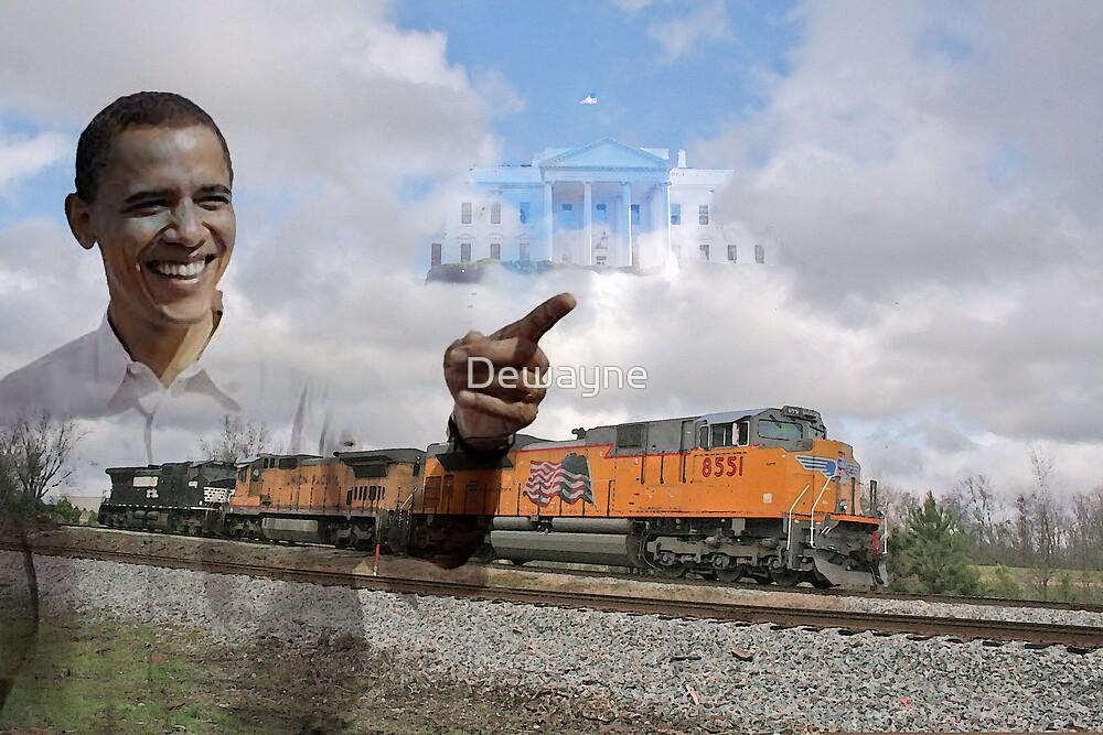 Obama Train by Dewayne