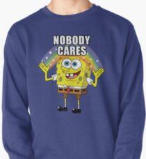 Spongebob Nobody Cares Pullover