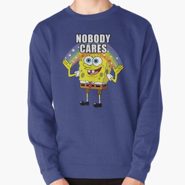 Spongebob Personne ne se soucie Sweatshirt épais