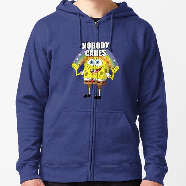 SpongeBob Niemand kümmert sich darum Kapuzenjacke