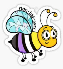 Non-bee-nary Sticker