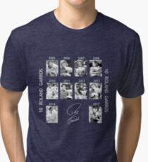 10 Roland Garros for Nadal Tri-blend T-Shirt