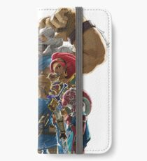 The Legend of Zelda - Breath of the Wild - Champions' Artwork - Link and Zelda iPhone Wallet/Case/Skin