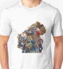 The Legend of Zelda - Breath of the Wild - Champions' Artwork - Link and Zelda T-Shirt