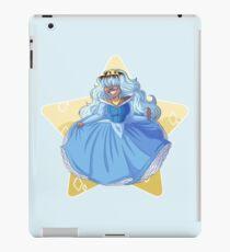 Sapphire as Sleeping Beauty (redraw) iPad Case/Skin