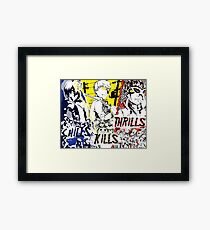 Chills, Kills, Thrills Framed Print