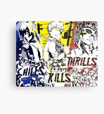 Chills, Kills, Thrills Metal Print
