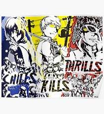 Chills, Kills, Thrills Poster