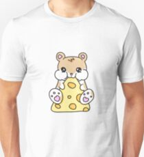 Hamster and Cheese Unisex T-Shirt