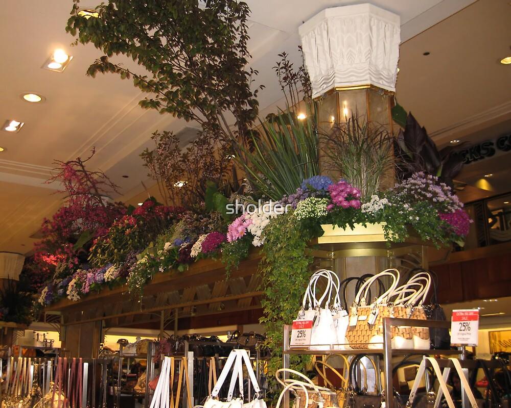 Flowers Over Handbags 2 by sholder