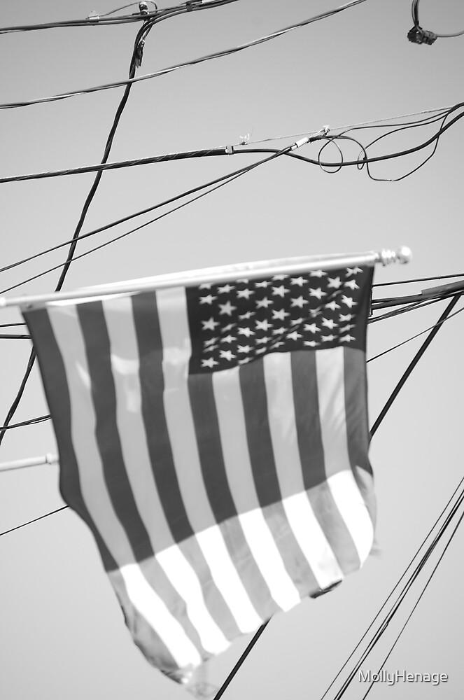 american flag by MollyHenage