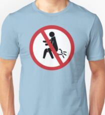 NO Farting Sign T-Shirt