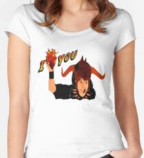 Temple of Love Women's Fitted Scoop T-Shirt
