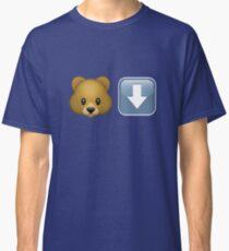 University of Arizona - Bear Down Emoji Classic T-Shirt