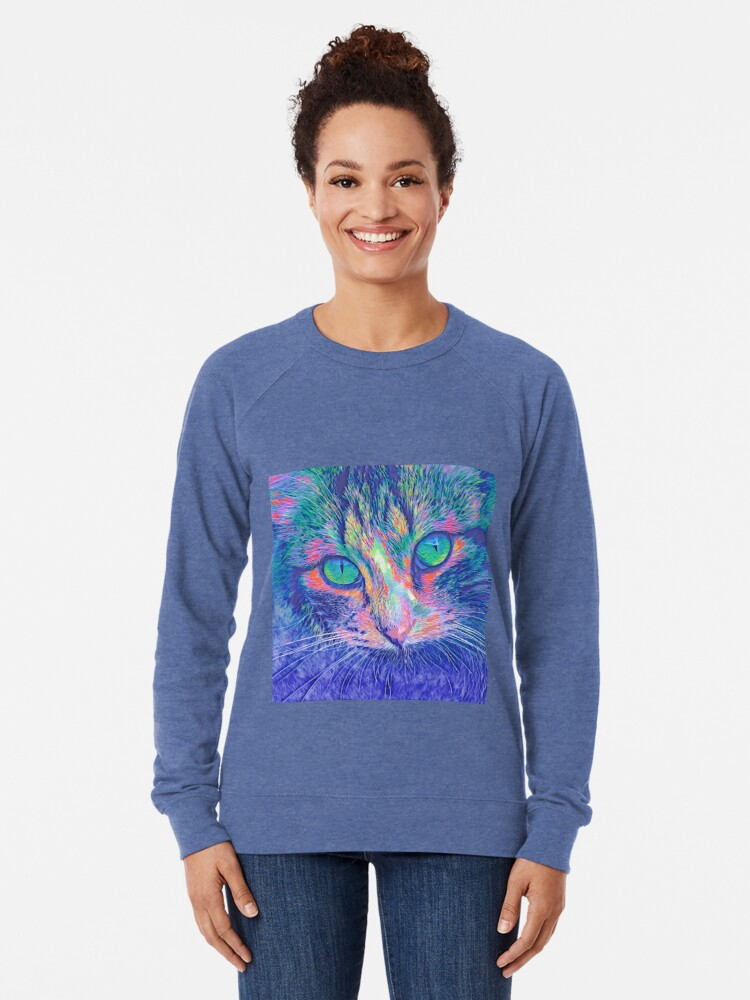 Alternate view of SteelBlue Lightweight Sweatshirt