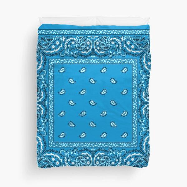 Bandana - Blue  Duvet Cover