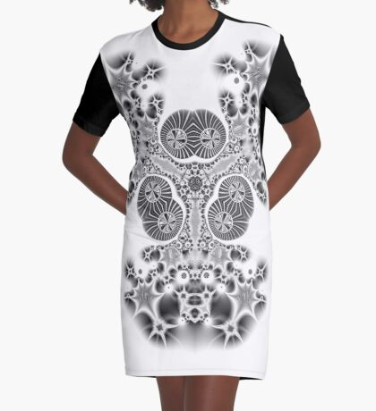 Amoeba 9 Graphic T-Shirt Dress