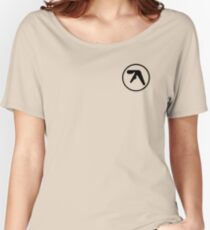 aphex twin logo ( Black ) Women's Relaxed Fit T-Shirt