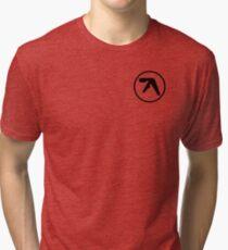 aphex twin logo ( Black ) Tri-blend T-Shirt