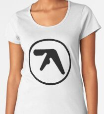 aphex twin logo ( Black ) Women's Premium T-Shirt