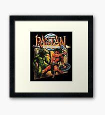 Rastan Framed Print