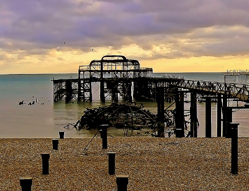 West Pier Brighton. by mariarty