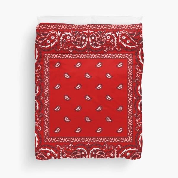 Bandana - Red  Duvet Cover