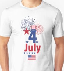 USA 4th of July Independence Day  Unisex T-Shirt