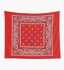 Bandana - Red  Wall Tapestry