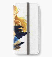 The Legend of Zelda : Breath of the Wild - Link and Zelda iPhone Wallet/Case/Skin