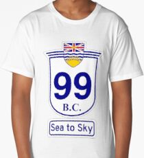 British Columbia 99 - Sea to Sky Long T-Shirt