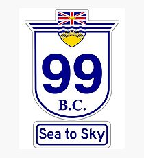 British Columbia 99 - Sea to Sky Photographic Print