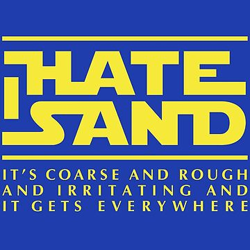 For sand haters (yellow) by Ulit