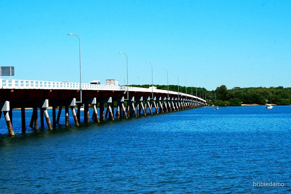 Bribie Bridge by bribiedamo