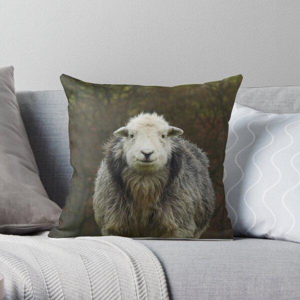 Herdwick II Throw Pillow
